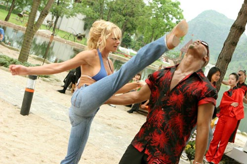Jamie Pressly wearing tight jeans could just about save the Dead or Alive movie