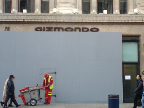 Gizmondo's flagship Regent Street embarrassment