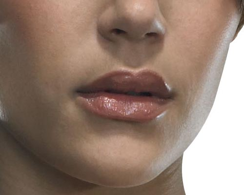 Karima Adebibe and her lifelike lips