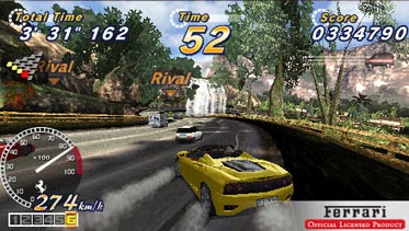 OutRun 2006 on PSP, which is probably the one we'll be getting
