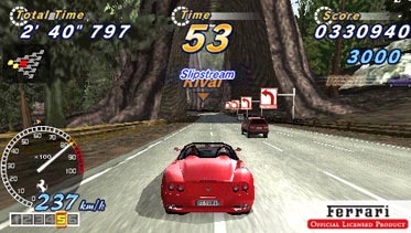 OutRun 2006 Coast 2 Coast on PSP again
