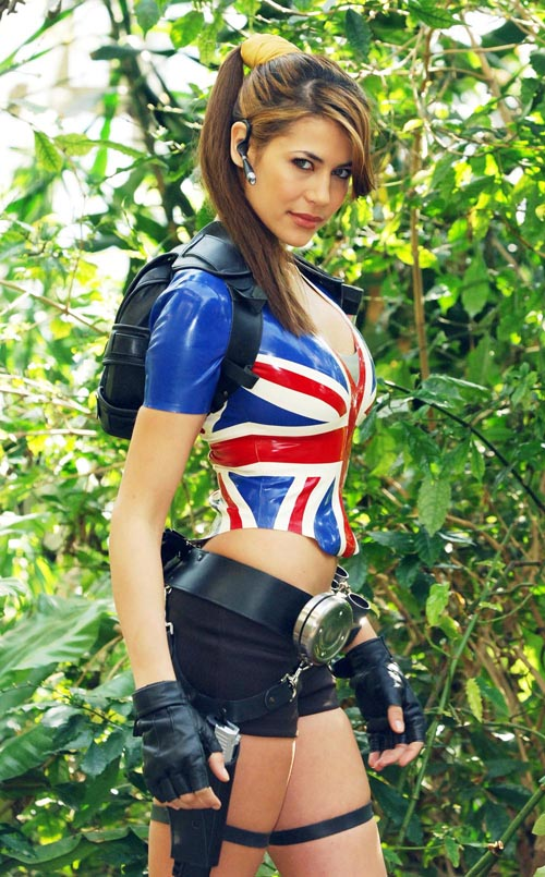 Lara Croft model Karima... Adedebedea