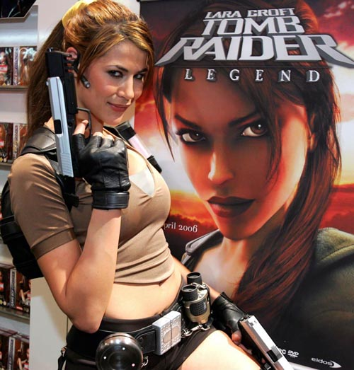 Lara Croft model Karima... Ababidet