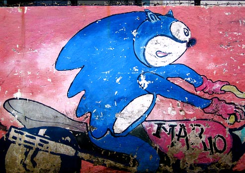 EVEN MORE SEGA graffiti