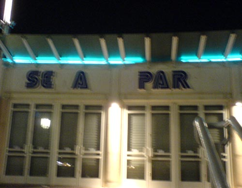 SEGA PARK, Brighton. Where the fun starts! (mind the syringes)