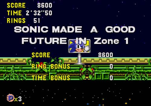 Every future is a good future with Sonic!