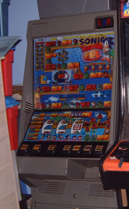 Sonic fruit machine