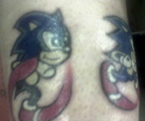 Sonic tattoo madness