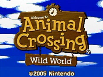 Animal Crossing Wild World: Game of any year, but particularly of 2006