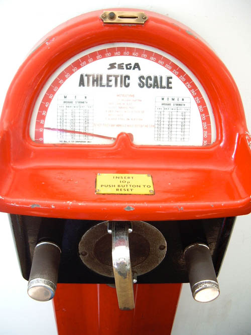 SEGA Athletic Scale