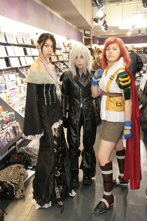 Final Fantasy cosplay bitches 3, 4 and 5