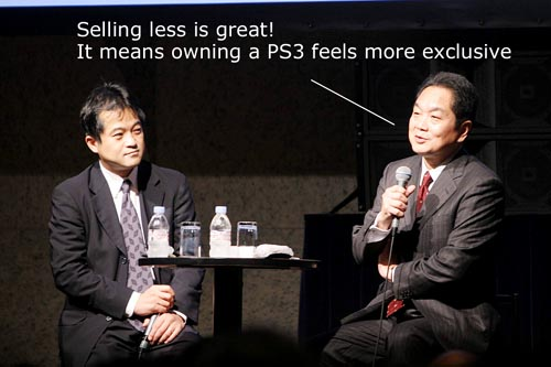 Ken reveals PS3 exclusivity masterplan