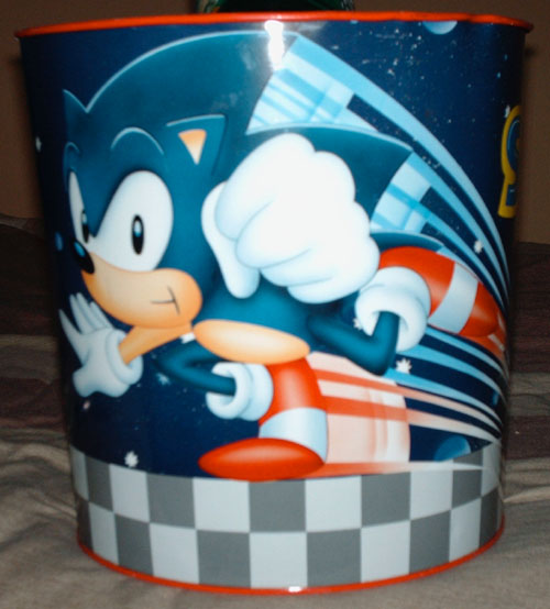AWESOME SONIC BIN! EVEN AWESOMER!