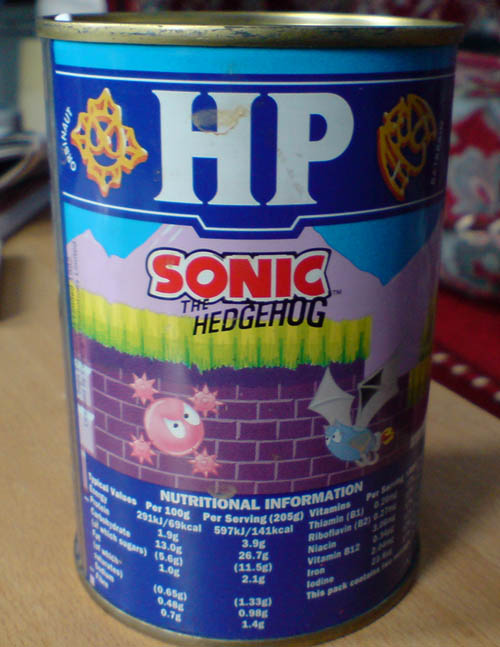 Sonic HP pasta shapes!