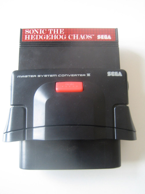 SEGA Master System Converter II - photo exclusive