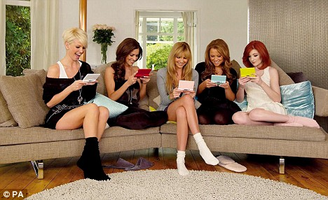 Girls Aloud SOCKS ACTION