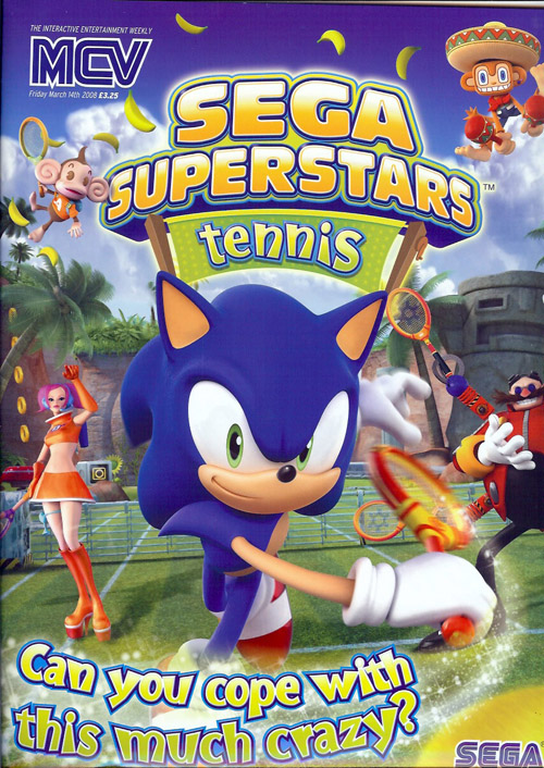 SEGA Superstars Tennis specialist campaign