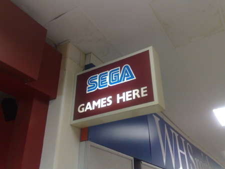 SEGA report from Cardiff Airport