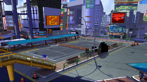 SEGA Superstars Tennis NiGHTS/JSR joy