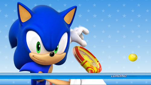 SEGA Superstars Tennis - LOADING!