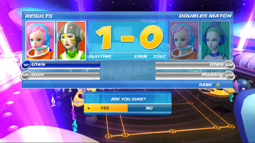 SEGA Superstars Tennis - Actually, now you mention it...