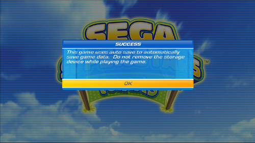 SEGA Superstars Tennis auto-save EXPOSED