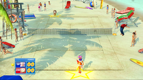 SEGA Superstars Tennis - FLAG MAN REVEALED