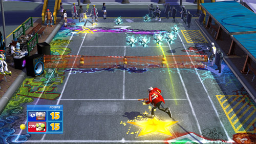 SEGA Superstars Tennis - Screenshot countdown
