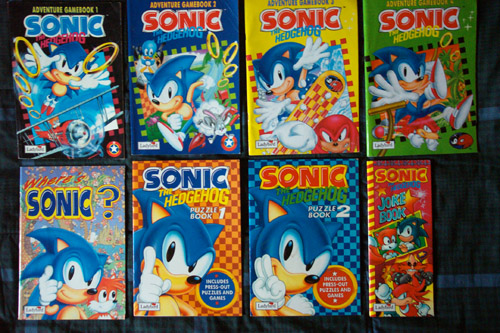 The British Library Sonic book collection