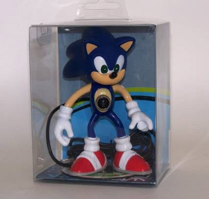 Sonic with guts coming out
