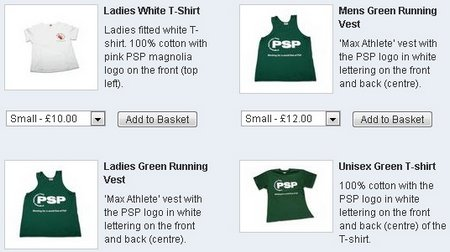 psp t-shirts