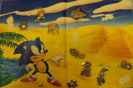 sonic sticker album 10