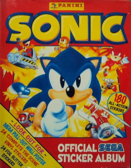 sonic sticker album 11