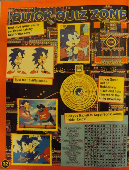 sonic sticker album 2