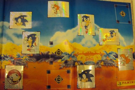 sonic sticker album 4