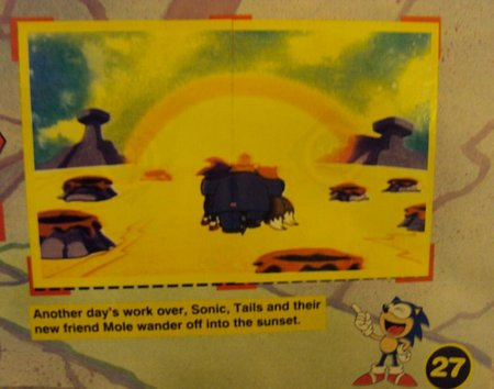 sonic sticker album 7