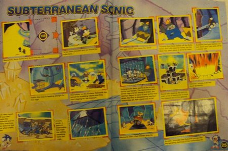 sonic sticker album 9